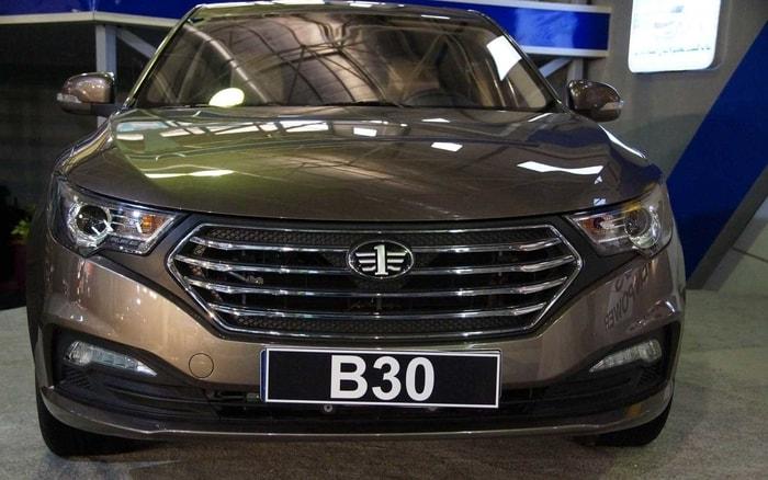مقایسه بسترن B30 با خودروهای همسطح