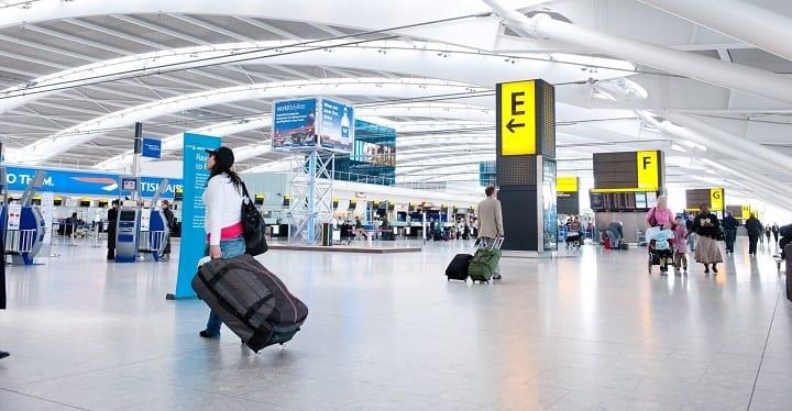 انگلیسی در سفر برای گذران وقت در فرودگاه
