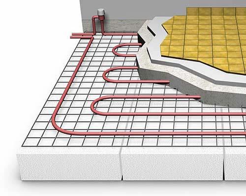 انواع گرمایش کف  سیستم گرمایش از کف چیست و چه مزایایی دارد؟